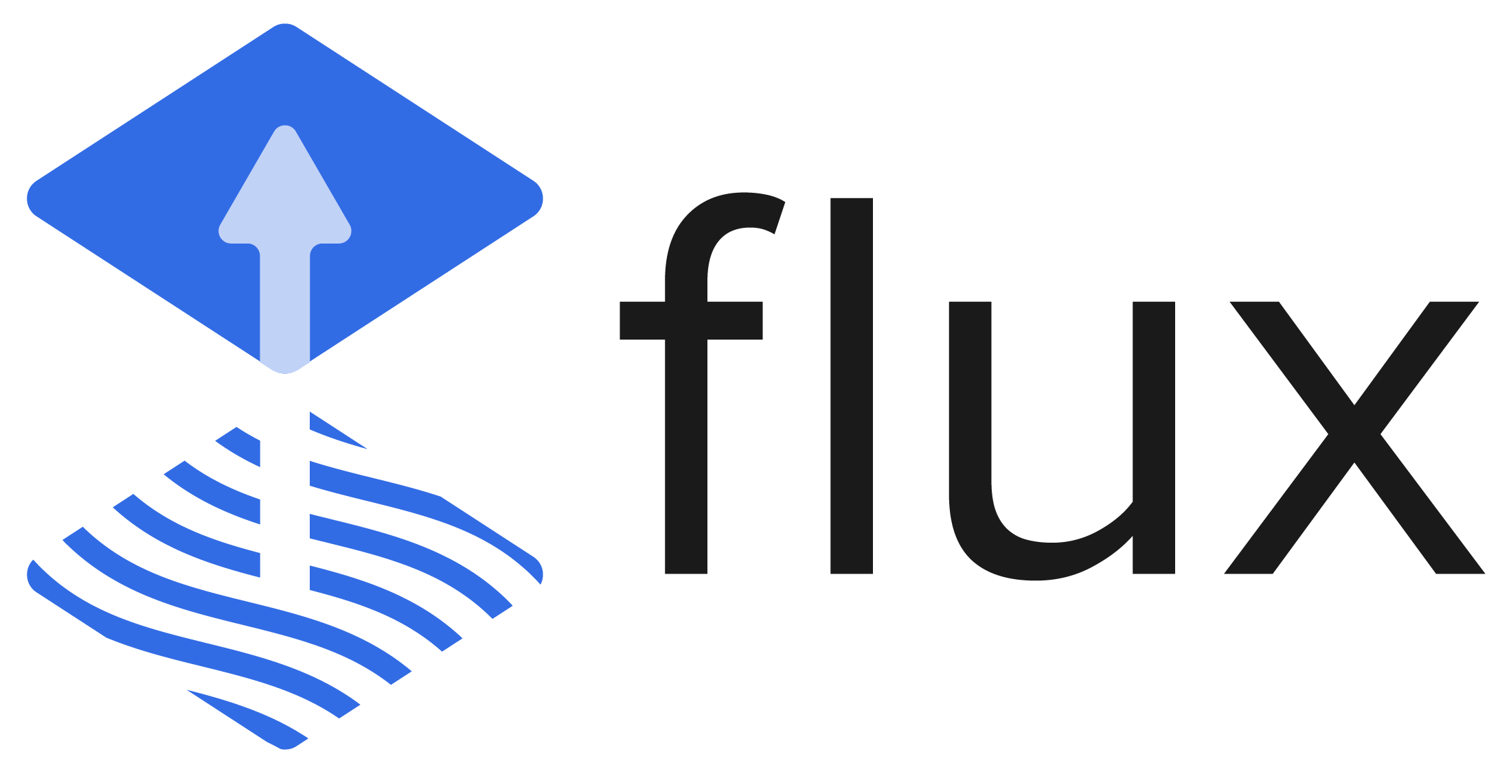 Flux CD hero logo